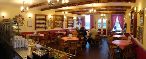 Inside Goathland Tea Rooms